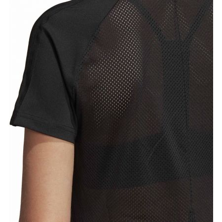 Дамска тениска - adidas D2M 3S TEE - 8