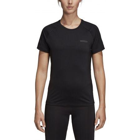 Дамска тениска - adidas D2M 3S TEE - 7
