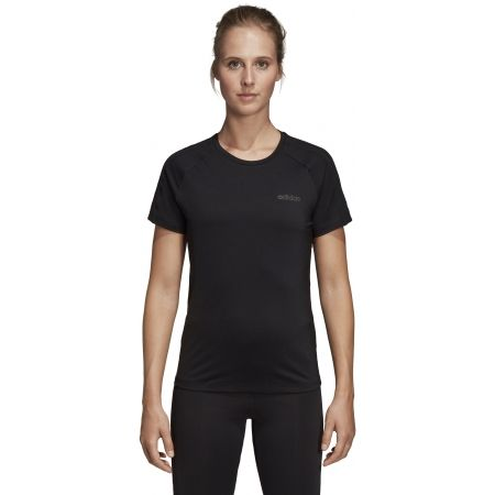 Дамска тениска - adidas D2M 3S TEE - 3