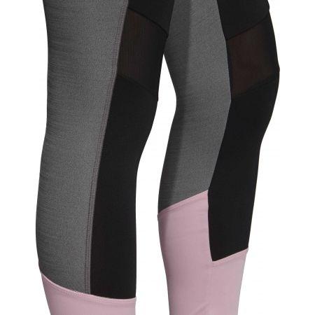 Damen Leggings - adidas D2M HR 78 - 9