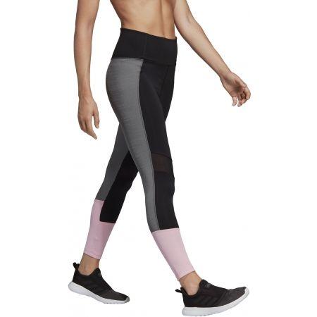 Damen Leggings - adidas D2M HR 78 - 6