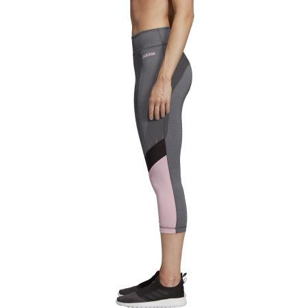 Damen Leggings - adidas D2M RR 34 - 4