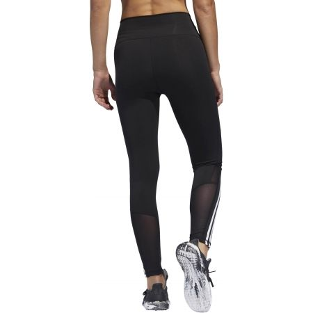 Damen Leggings - adidas D2M HR 78 T 3S - 4