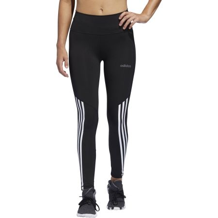 Damen Leggings - adidas D2M HR 78 T 3S - 3