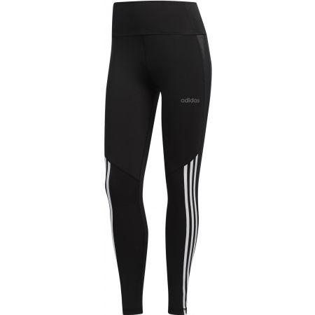 Damen Leggings - adidas D2M HR 78 T 3S - 1