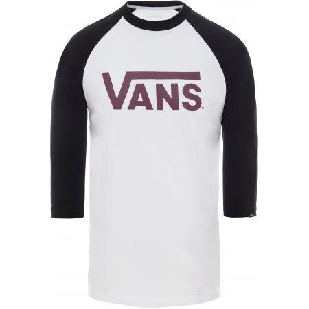 Men's T-shirt - Vans MN VANS CLASSIC RAGLAN - 1