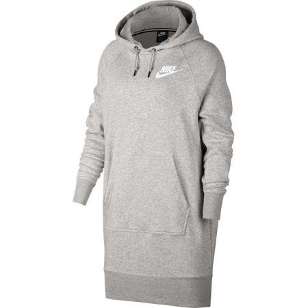 Nike NSW RALLY HOODIE DRESS RIB