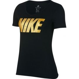 Nike NSW TEE NIKE MTLC BLOCK - Dámské triko