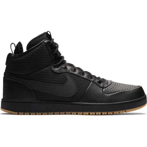 Nike EBERNON MID WINTER černá 11.5 - Pánské volnočasové boty