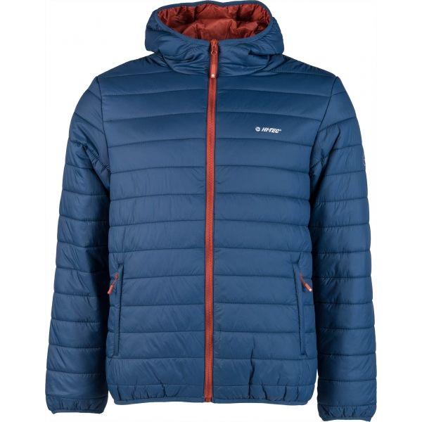 Hi-Tec NISOR kék XXL - Férfi steppelt kabát