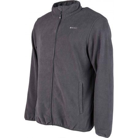 Men's fleece sweatshirt - Hi-Tec ZINAR - 2