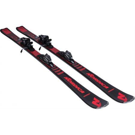 Sjezdové lyže - Nordica SPORTMACHINE 75 + P.R EVO - 4