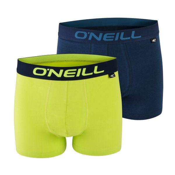 O'Neill BOXERSHORTS 2-PACK SEASON žlutá XL - Pánské boxerky