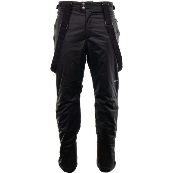 ALPINE PRO YABUN 4 černá XL - Pánské zimní kalhoty