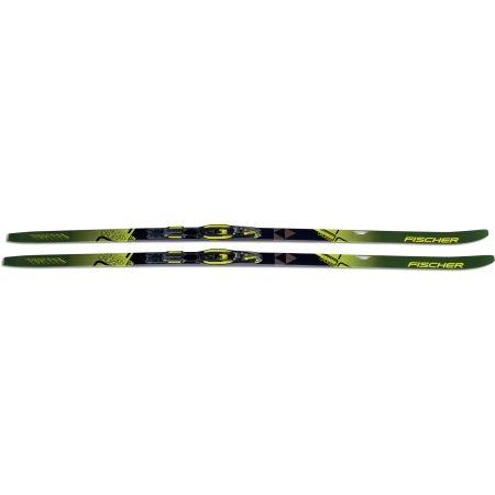 Běžecké lyže na klasiku s podporou stoupání - Fischer TWIN SKIN CRUISER EF + TOUR STEP-IN IFP - 4