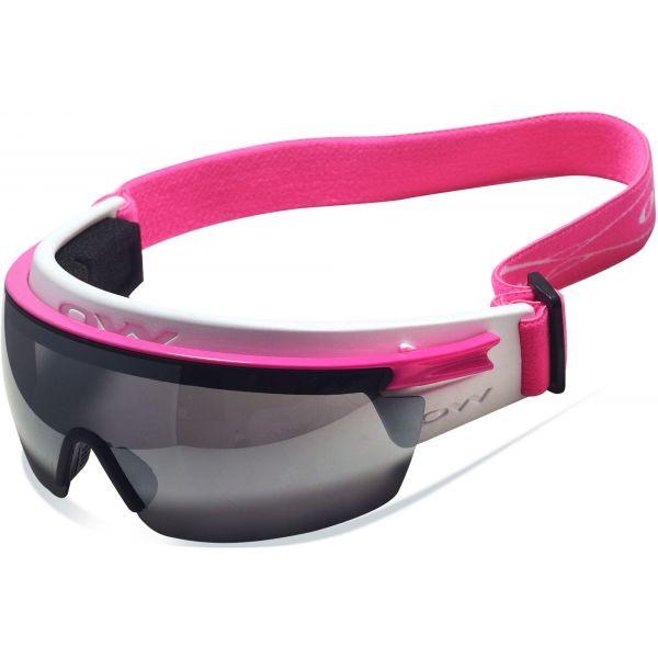 One Way SNOWBIRD MAG rózsaszín NS - Sífutó szemüveg
