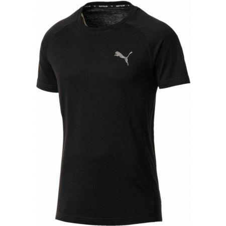 Tricou funcțional bărbați - Puma EVOSTRIPE WARM TEE - 1