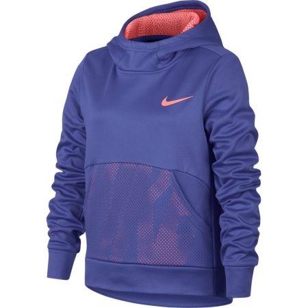 Спортен суитшърт за момичета - Nike NK THERMA HOODIE PO ENERGY - 1