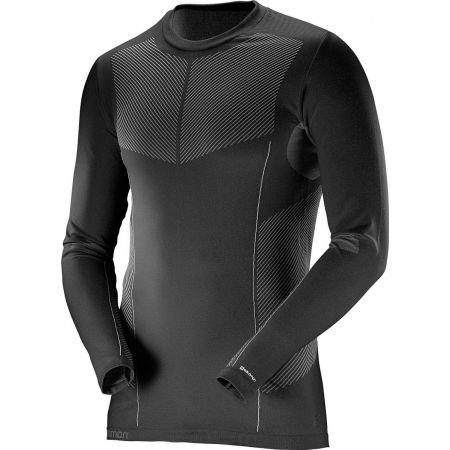 Pánske termo tričko - Salomon PRIMO WARM LS CN TEE M - 1
