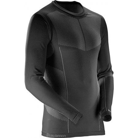 Pánske termo tričko - Salomon PRIMO WARM LS CN TEE M - 2