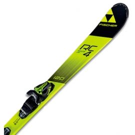 Fischer RC4 RACE JR. + FJ4 SLR - Kids' downhill skis