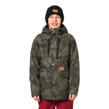 Chlapčenská lyžiarska/snowboardová bunda - Horsefeathers LANC KIDS JACKET - 1