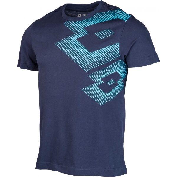 Lotto L73 IV TEE LOSANGA niebieski M - Koszulka męska