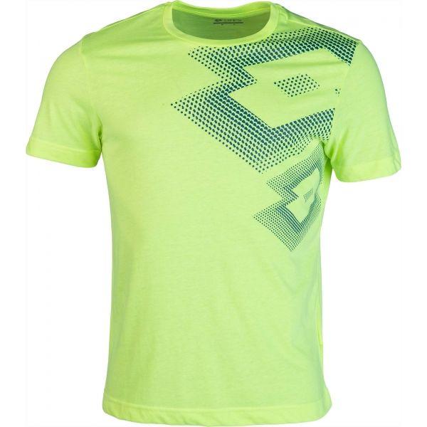 Lotto L73 IV TEE LOSANGA zielony L - Koszulka męska