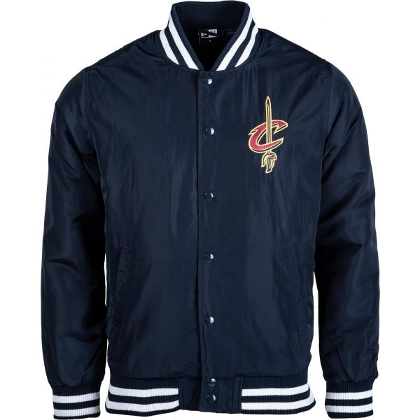 New Era NBA CLEVELAND CAVALIERS tmavě modrá S - Pánská bunda