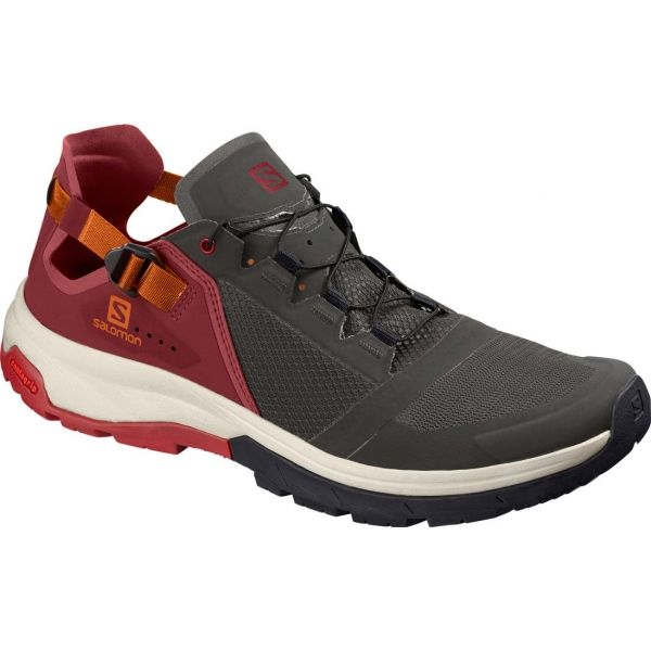 Salomon TECHAMPHIBIAN 4 černá 8.5 - Pánská hikingová obuv