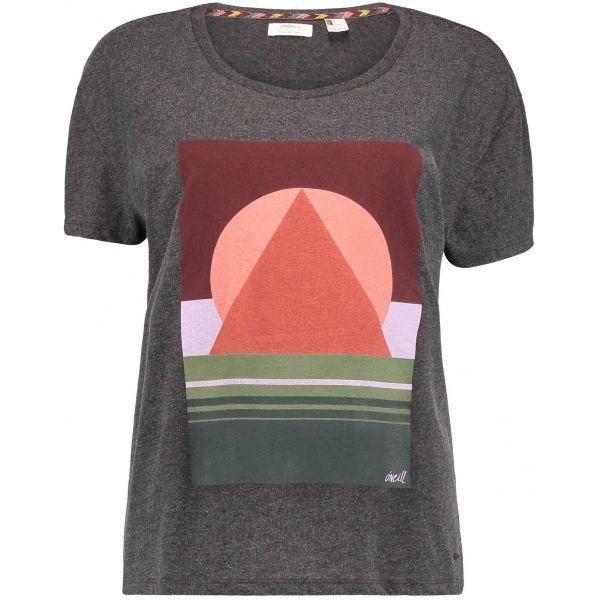 O'Neill LW LAKE TAHOE T-SHIRT šedá XS - Dámské tričko