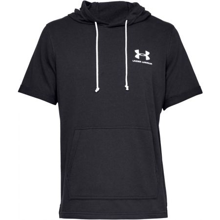 Men's T-shirt - Under Armour SPORTSTYLE TERRY SS HOODY - 1