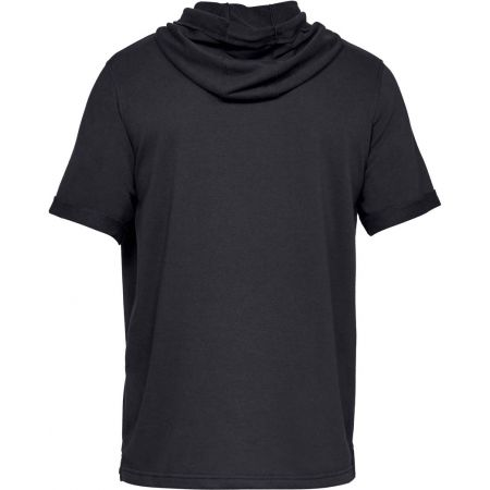 Men's T-shirt - Under Armour SPORTSTYLE TERRY SS HOODY - 2