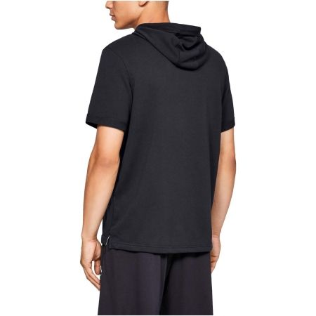 Men's T-shirt - Under Armour SPORTSTYLE TERRY SS HOODY - 5