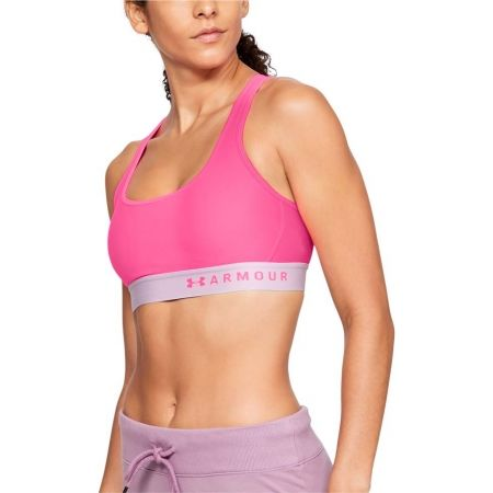 Damen Sportlicher BH - Under Armour ARMOUR MID CROSSBACK - 3