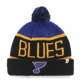 47 NHL ST LOUIS BLUES CALGARY CUFF KNIT - Winter bobble hat