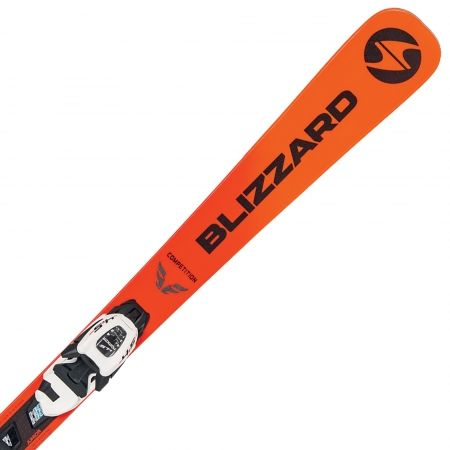 Dětské sjezdové lyže - Blizzard FIREBIRD COMP.JR + FDT 7 - 1