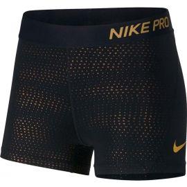 Nike NP SHORT 3IN MTLC DOTS - Dámské sportovní šortky