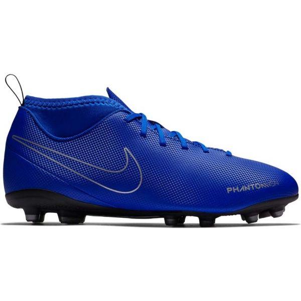 Nike JR PHANTOM VISION CLUB DYNAMIC FIT FG modrá 3.5Y - Detské kopačky