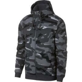 Nike NSW CLUB CAMO HOODIE FZ BB