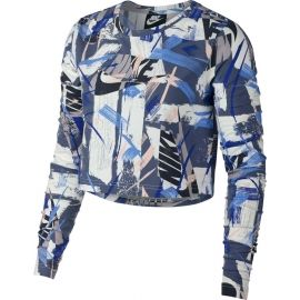Nike NSW TOP LS AOP WHTVR