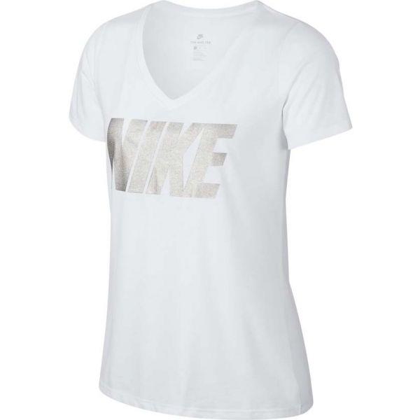 Nike NSW TEE NIKE MTLC BLOCK - Dámske tričko