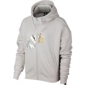 Nike NSW RALLY HOODIE FZ MATALIC - Women's hoodie