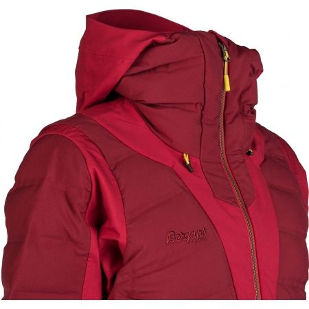 Women's insulated jacket - Bergans HEMSEDAL HYBRID LADY JKT - 4