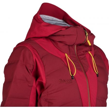 Women's insulated jacket - Bergans HEMSEDAL HYBRID LADY JKT - 5