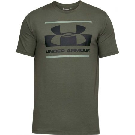 Pánske tričko - Under Armour BLOCKED SPORTSTYLE LOGO - 1 cb93e9b277f