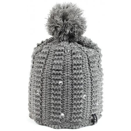 16c240114 Dámska zimná čiapka - Finmark ZIMNÁ ČIAPKA