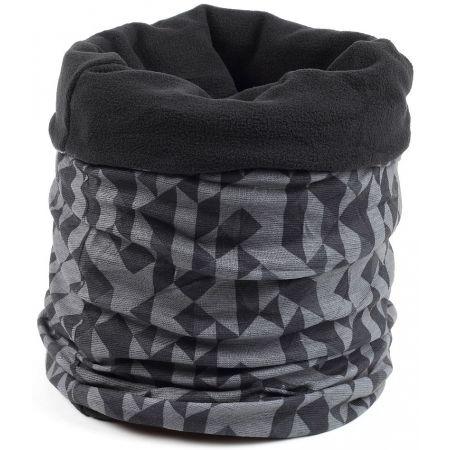 Finmark MULTIFUNKČNÍ ŠÁTEK S FLÍSEM - Multifunkční šátek s fleecem