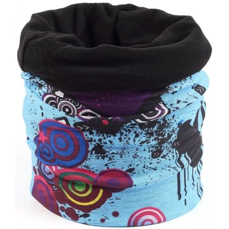 Dětský multifunkční šátek s fleecem - Finmark DĚTSKÝ MULTIFUNKČNÍ ŠÁTEK S  FLÍSEM 6ad0419913