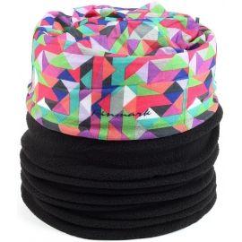 b3506bd244b Finmark DĚTSKÝ MULTIFUNKČNÍ ŠÁTEK S FLÍSEM - Dětský multifunkční šátek s  fleecem